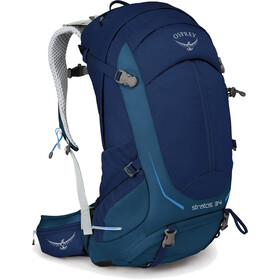 Osprey Stratos 34 Backpack Herr eclipse blue